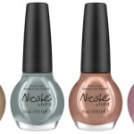 Nicole by OPI Heavy Metals nail lacquers collection