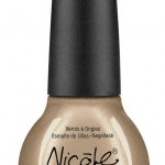 Nicole by OPI Heavy Metals nail lacquers collection beige