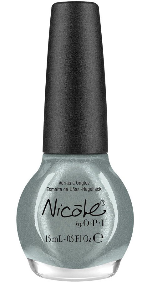 Nicole by OPI Heavy Metals nail lacquers collection blue