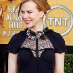 Nicole Kidman Black Nina Ricci dress 2011 SAG Awards 3