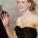 Nicole Kidman powdered nose Nine Premiere 1