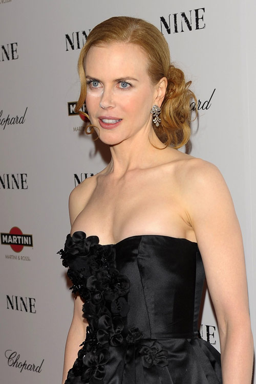 Nicole Kidman powdered nose Nine Premiere 5
