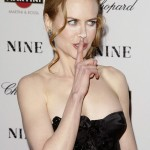 Nicole Kidman powdered nose Nine Premiere 7