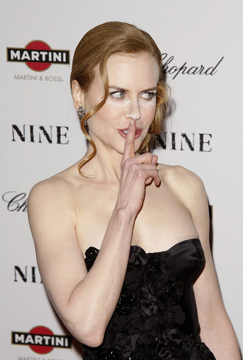 Makeup Don't Nicole Kidman's Overpowdered Nose