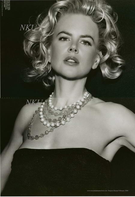 Nicole Kidman Some Like it Hot in Harper's Bazaar