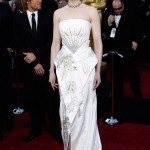 Nicole Kidman white Dior couture dress 2011 Oscars 2