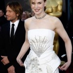 Nicole Kidman white Dior couture dress 2011 Oscars
