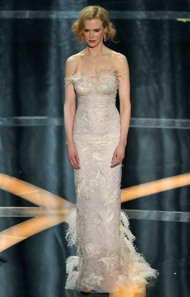 The White Oscars Dresses 2009 Stylefrizz