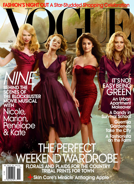 Nicole Marion Penelope Kate Vogue November 2009