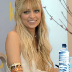 Nicole Richie bottled water