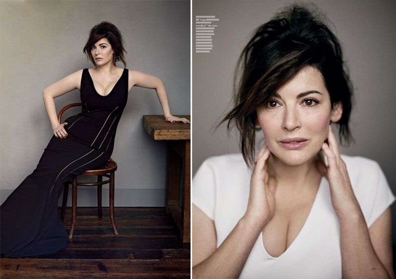 Nigella Lawson Vogue UK pictorial
