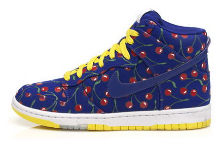 Nike Cherry Dunk high sneaker