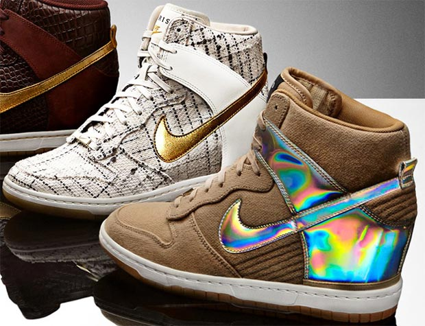 Fashion Week Wardrobe: Nike Dunk Sky High Wedge Sneakers