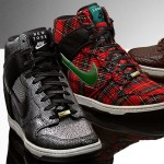Nike Dunk Sky High wedge sneakers London