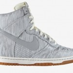 Nike Dunk wedge sneakers silver gray