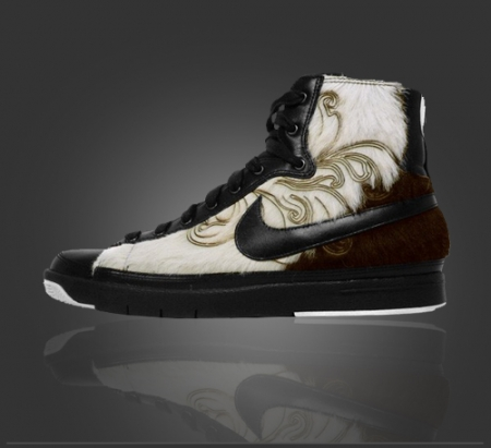 2d300cdb7dd5 Nike Fur-Sneaker For Your Feline Self