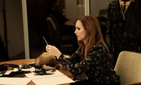 Nina Persson Fall 2010 collection Hope working