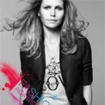 Nina Persson Fashion against AIDS