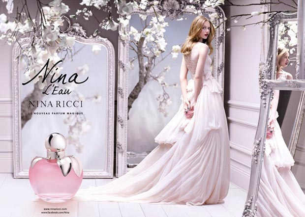 Nina Ricci l Eau Nina Ricci Mon Secret perfume ad campaign