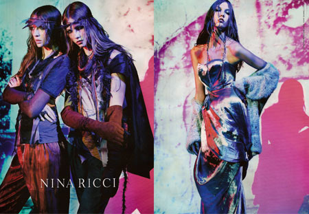 Nina Ricci Spring Summer 2008 Advertising Campaign