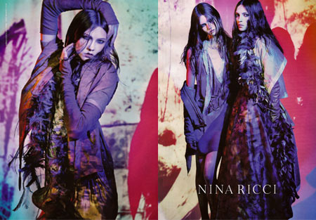 Nina Ricci Spring Summer 08 Advertising Campaign