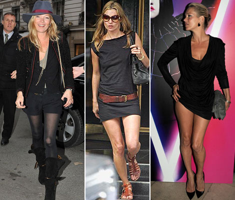 number one top style advice from Kate Moss