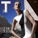 NY Times T Style magazine Spring 2013 cover Anja Rubik