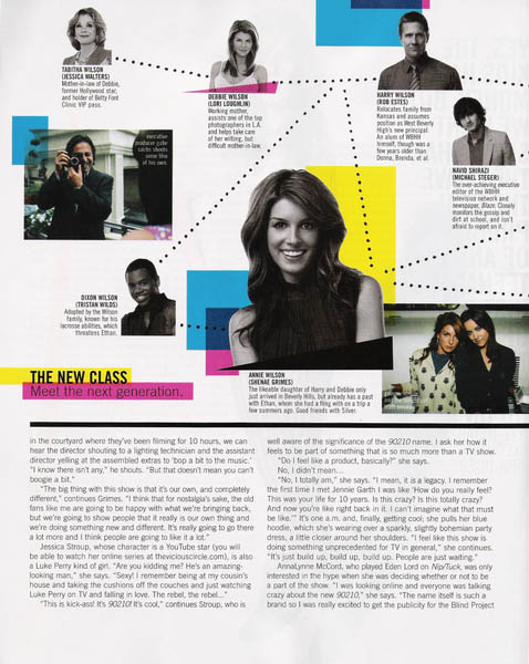 Nylon September 2008 TV issue 90210 is back relations