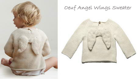 Angel Wing Sweater For Your Little Ones