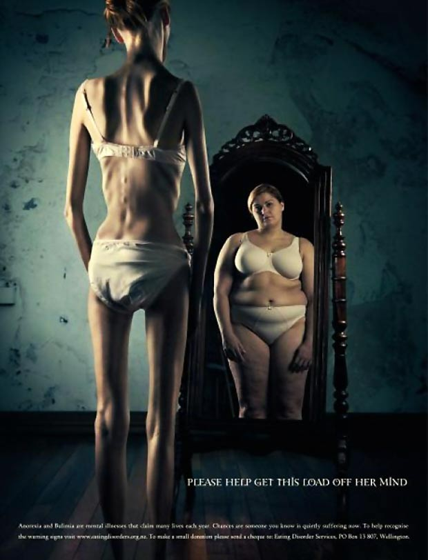 official anorexia mirror poster Ross Brown Geoff Francis