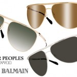 Oliver Peoples Balmain collection
