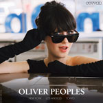 Zooey Deschanel Oliver Peoples Shades