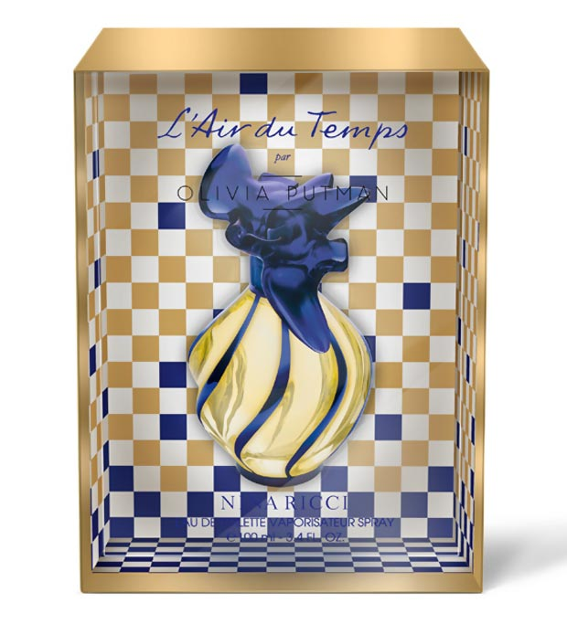 Olivia Putman Nina Ricci l Air du Temps bottle
