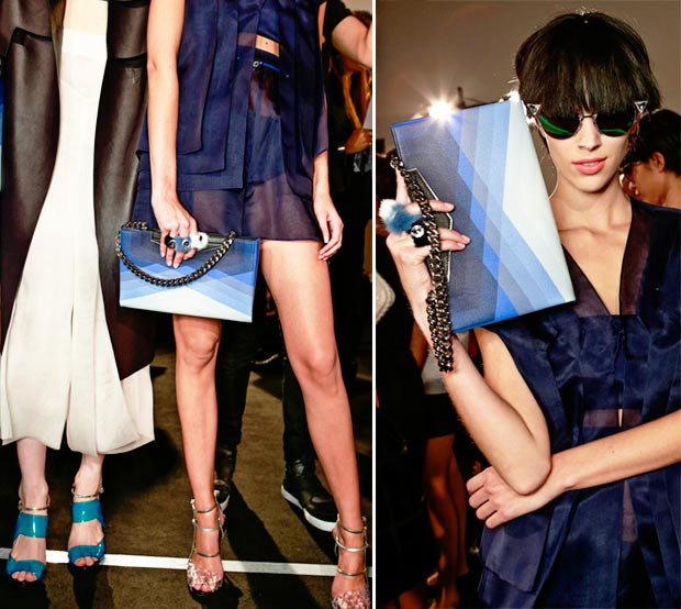 ombre sandals bags Fendi Spring Summer 2014 collection