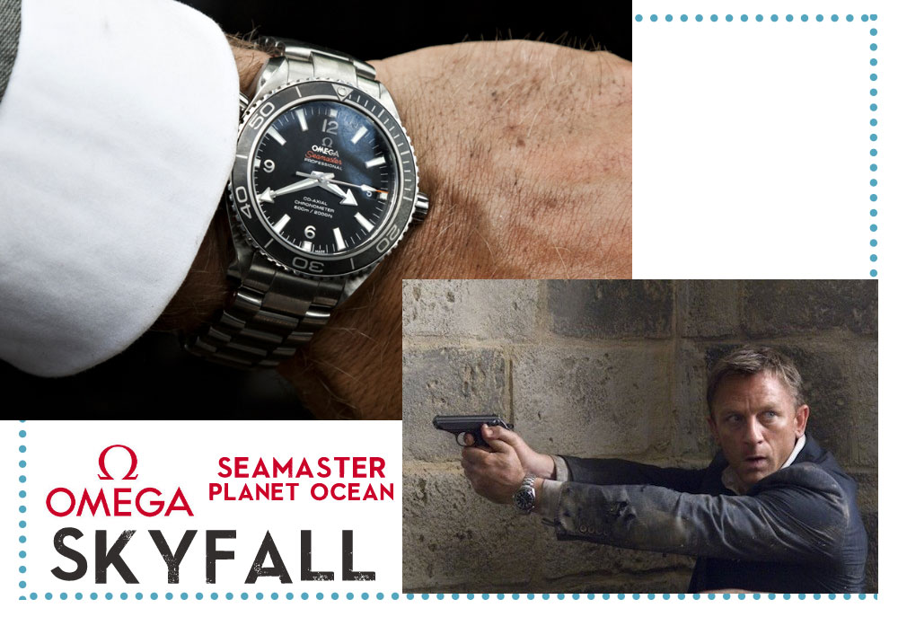 Omega watch James Bond Skyfall Daniel Craig