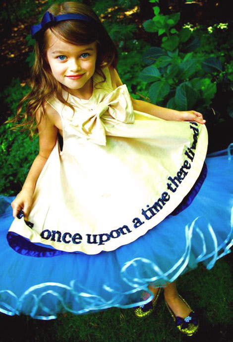 Once Upon a Time girls dress