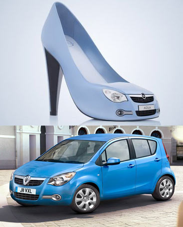 Opel Vauxhall Agila Shoes