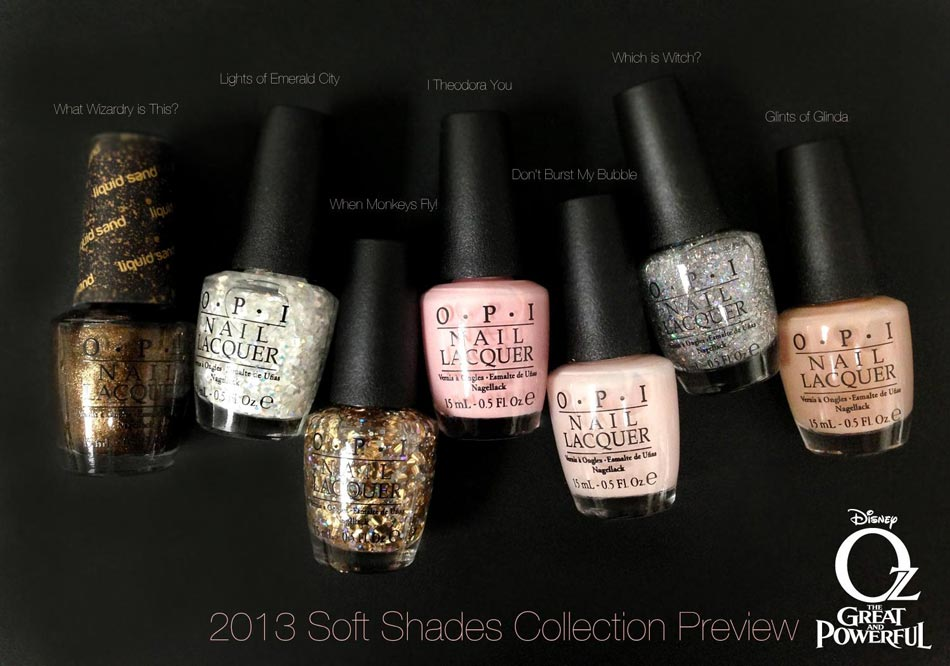 OPI Oz Great and Powerful Nail Polish