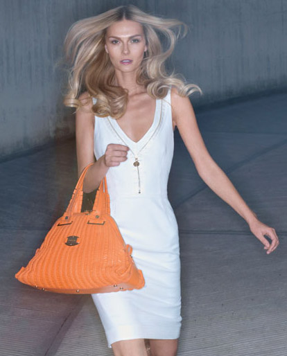 Orange bag Versace Summer 09