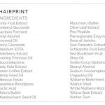 organic non toxic hair dye ingredients list hairprint