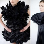 Origami fashion dresses Morana Kranjec