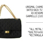 original Chanel 255 bag vintage designed by Coco Chanel 1930