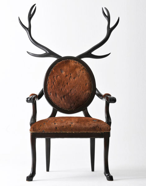 original deer chair by Merve Kahraman