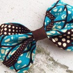 original fabric hair bow Manaka