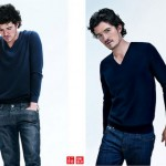 Orlando Bloom Uniqlo ads