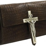 Our Lord and Saviour Olympus Teneo Crocodile Clutch