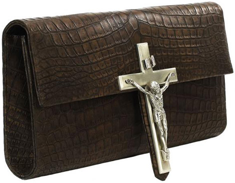 Our Lord &#038; Saviour Python And Crocodile Leather Cluthes