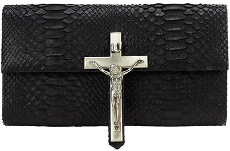 Our Lord and Saviour Olympus Teneo Python Clutch