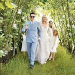 Outdoor weddng decorations Kate Moss wedding