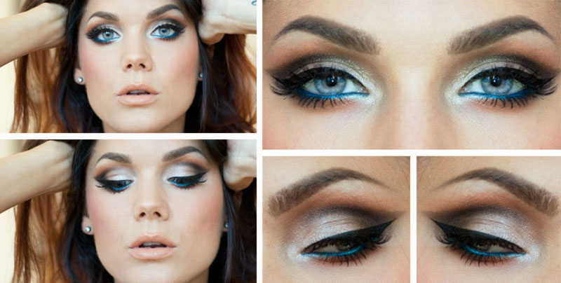 outstanding aqua green makeup inspiration